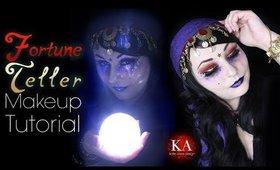 Fortune Teller Halloween Makeup Tutorial