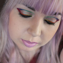 Rainbow Graphic Eyeliner