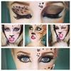 Halloween leopard look!