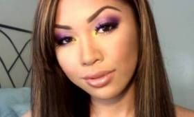 LOS ANGELES LAKERS Inspired Makeup Using Sugarpill Cosmetics