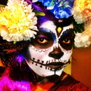sugar skull makeup
