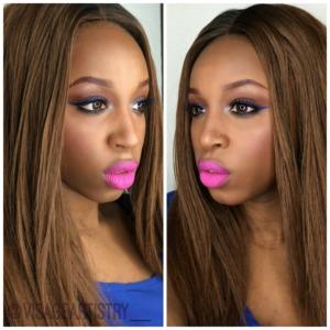 @visageartistry__  ||Neutral makeup with a POP!||