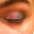 Cotton candy eyeshadow