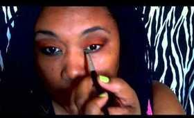 Orange & Green Eyeshadow Tutorial