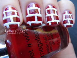 Done for an ABC Challenge. http://spellboundnails.blogspot.com/2012/09/b-is-for.html