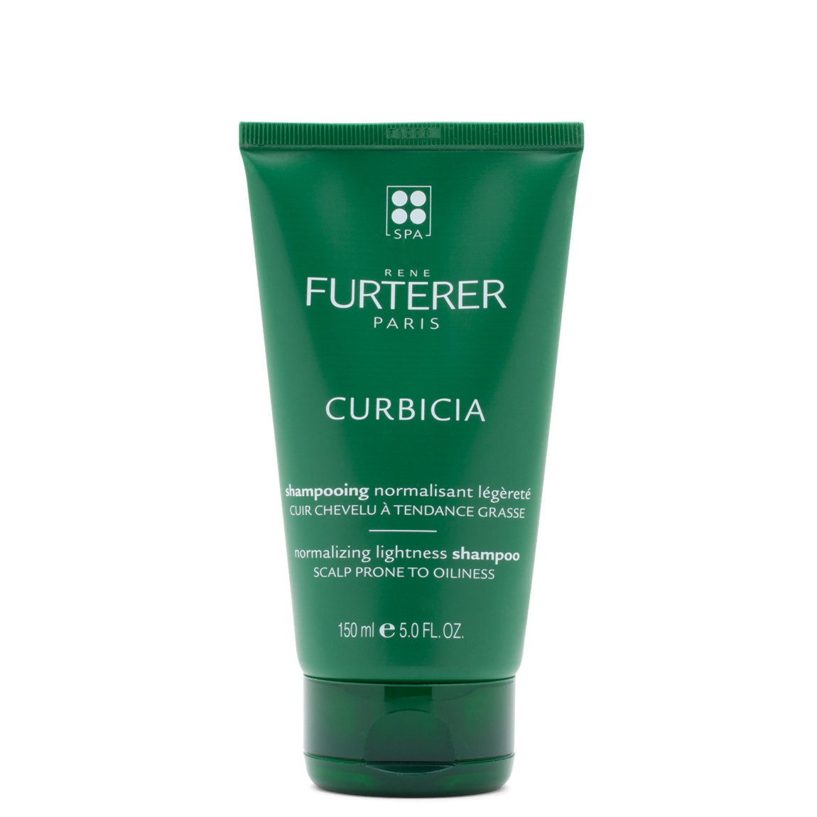 Rene Furterer Curbicia Lightness Regulating Shampoo product swatch.