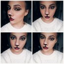 cat makeup look