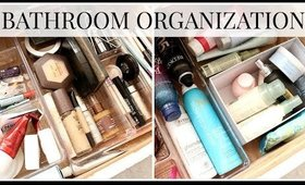 Bathroom Organization + Cleanout | Kendra Atkins