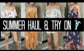 Summer Fashion Haul  & Try On 2018