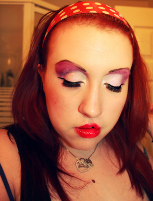 jessica rabbit themed makeup