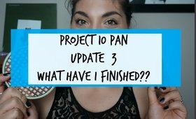 Project 10 Pan| Update #3