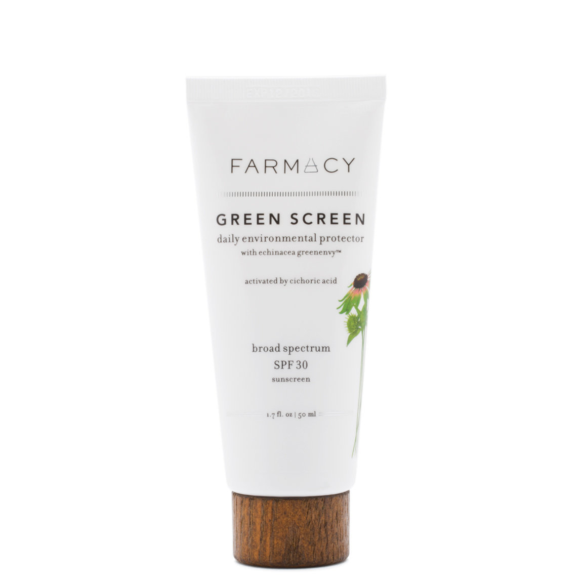 Farmacy Green Screen Daily Environmental Protector Broad Spectrum SPF 30 product smear.