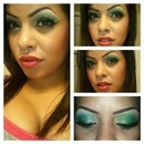 Glimmering Evergreen eyes