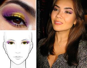 my recreation of Beautylish's Jasmine's date-night look  http://www.maryammaquillage.com/2012/02/date-night.html