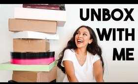 UNBOXING PR PACKAGES! NEW MAKEUP HAUL + GIVEAWAY - TrinaDuhra