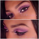 Valentine's Day 2014 Makeup Tutorial ♥  (Pink & purple)