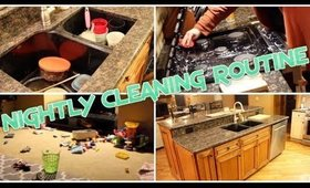 NIGHTLY CLEANING ROUTINE!!