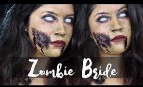 Zombie Bride | Halloween Makeup Look