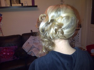 Curly and perfect for Christmas work do