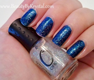 Orly Rocker Chick on Witch's Blue