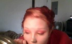 Fire Fairy Halloween Makeup