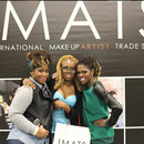 Me and My Girls at IMATS Toronto 2013 Day 2