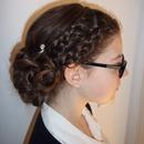 Beautiful Curly, Braid Hair