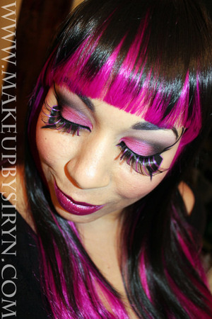 Based on the X-Men villainess, Deathbird!  More pics and products used: http://makeupbysiryn.com/2013/01/30/deathbird-inspired-look/