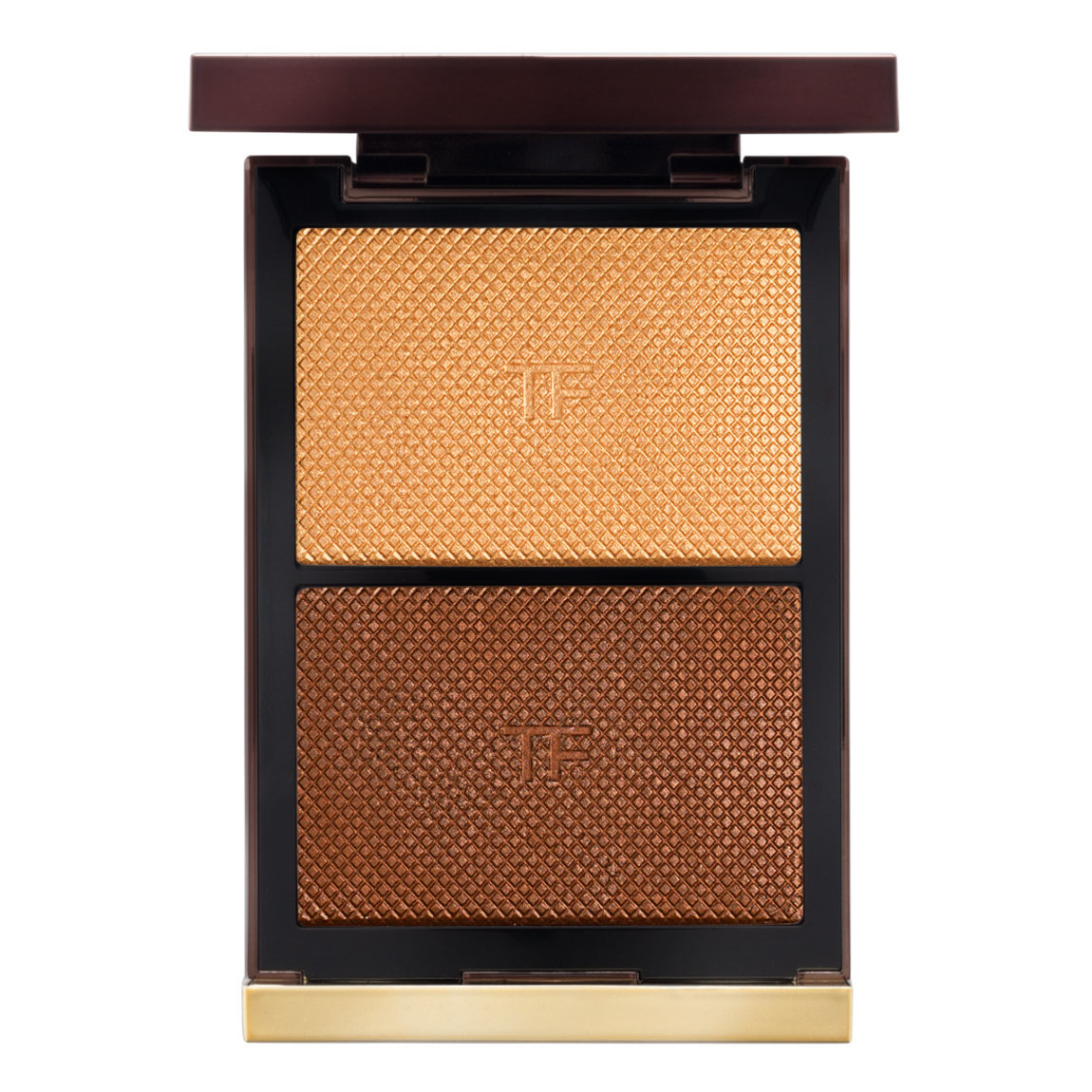 TOM FORD Skin Illuminating Powder Duo Flicker product swatch.