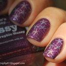 Starfish nail art