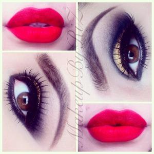 For details follow me on Instagram @MakeupByRiZ