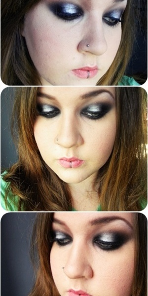 rock chick / edgy look / 3D eyes !
