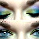 Purple, Blue, & Green