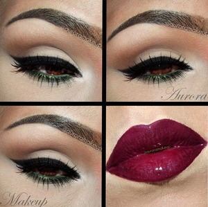 INSTAGRAM @auroramakeup Details in next post, pictorial & lips =)