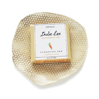 Indie Lee Carrot French Clay Cleansing Bar