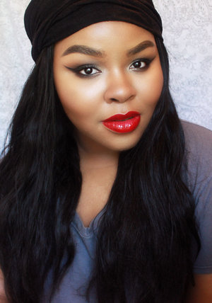 Blog Post: http://www.naturallyerratic.com/2014/06/chic-grunge-makeup-bold-red-lipstick.html