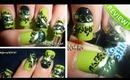Mystical Peridot Crystal Swarovski Nail Art - BornPrettyStore.com Review + Tutorial