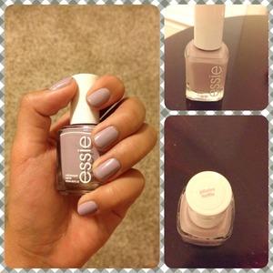 Cute lilac nails :)