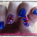 Flag Week Mani - UK Style