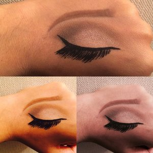 Drawing makeup on the hand beautylish hi guys i wanted to try to draw an eye on my hand and thats how it turned out tell me what you think about it ccuart Images