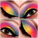 Rainbow Eye Makeup! :)