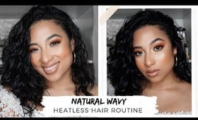 AFFORDABLE NATURAL WAVY/CURLY HAIR ROUTINE