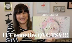 IT COSMETICS QVC TSV 6 PIECE HOLIDAY COLLECTION! | IT's YOUR TOP 5 SUPERSTARS and MORE!