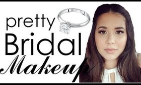 Pretty Bridal Makeup Look Using Nudie Patootie Palette