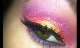 +Sunset Inspired Eyeshadow+ TUTORIAL