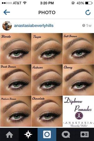 Abh Dipbrow Soft Brown Vs Medium Brown Beautylish