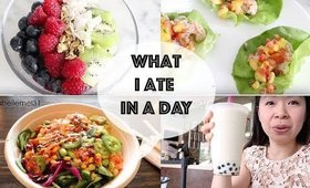 What I Eat in a Day (Healthy Edition MUKBANG) | MsLaBelleMel