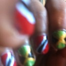Jamaica and Trinidad nails
