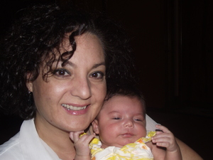 My beautiful mother and newest edition to the family. My niece Jordynn Leticia :)