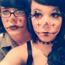 I did our makeup(: